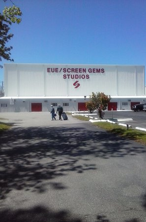 This is the front of screen gems studios where tours are are given every weekend.