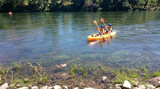 Las Medulas, Hiszpania: Kayak en el Sil