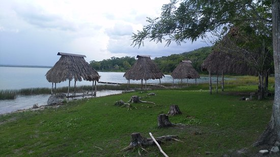 El Remate, Gwatemala: esta es la playa del parque.