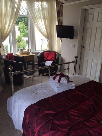 Bentley Lodge: Chambre 1. Décoration agréable.