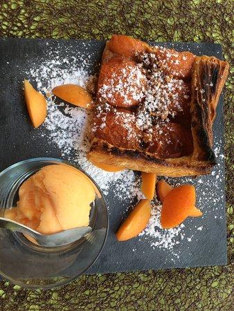 Riviere-sur-Tarn, Francja: Belle surprise, des aliments frais, des plats originaux et savoureux. Petits prix : menu plat/de