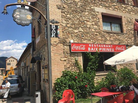 Borredà, España: Belle petite adresse sur une route super pour les motards