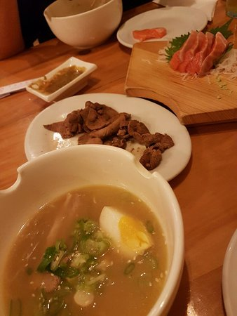 Various Japanese food