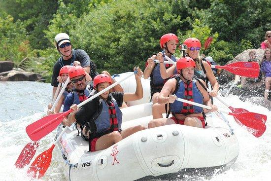 Copperhill, TN: Fun Fun!! Olympic course.....