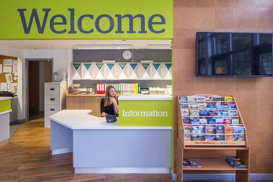 Penryn, UK: Guest reception