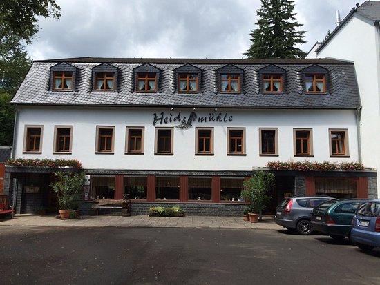 Manderscheid, Duitsland: bagian depan restoran