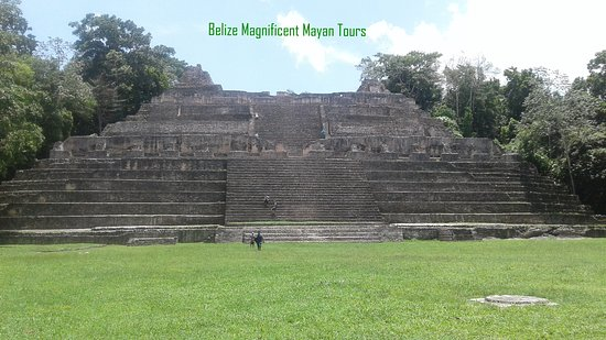 "San Ignacio, Belize: Massive Structure at Caracol known as ""Canna"""