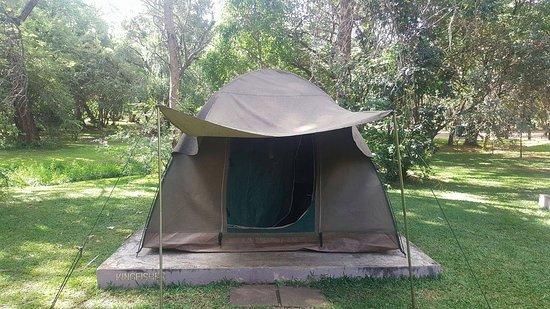 Victoria Falls Waterfront: Tents