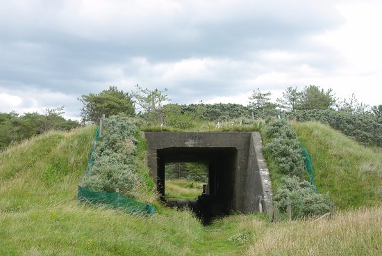 Old Bunker at Pembrey Country Park