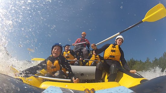 Geilo, Norwegia: Rafting with FULL ON