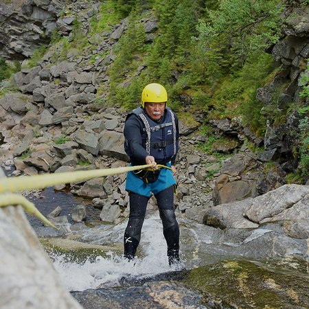 Geilo, Norwegen: Canyoning