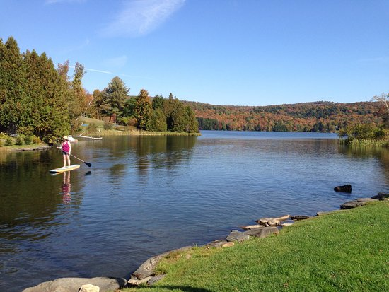 It's a lovely place to be...Silver Lake, Barnard, Vermont, USA