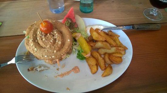 Nakskov, Danimarka: Burger