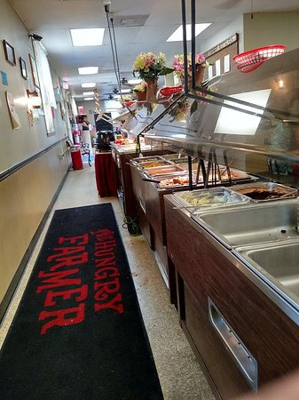 Cana, VA: buffet