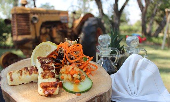 Hekpoort, Sydafrika: Sweet Thyme Restaurant - Starter