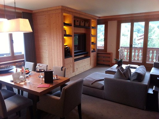 Park Gstaad: beautiful living room