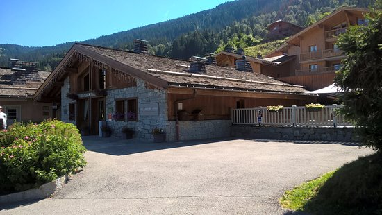CGH Residences Les Chalets de Jouvence: Réception