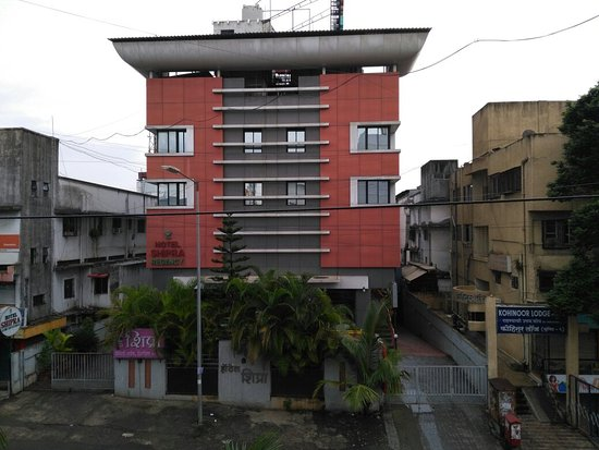 Pimpri-Chinchwad, India: Front view from outside
