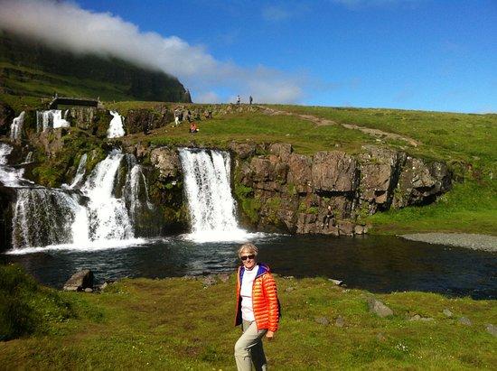 Grundarfjorour, Islandia: Kirkjufellfoss