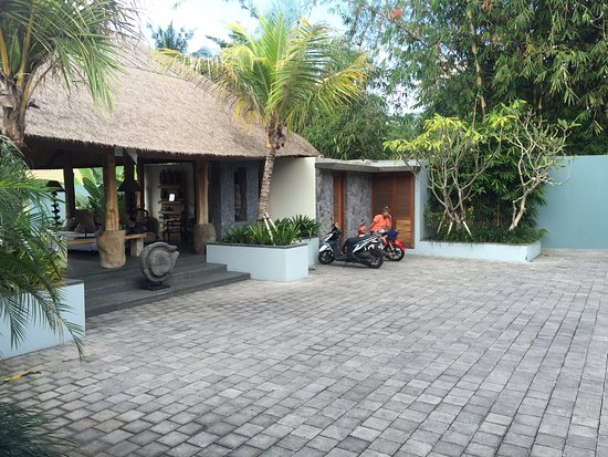 The Purist Villas and Spa: Entrance