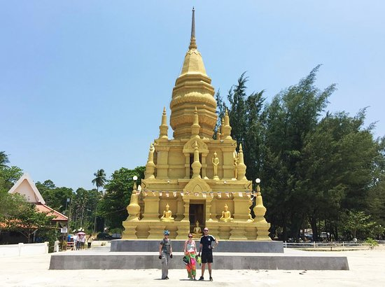 Maret, Tailandia: Lean Sor Pagoda Temple - Most Southerly point of Koh Samui Island