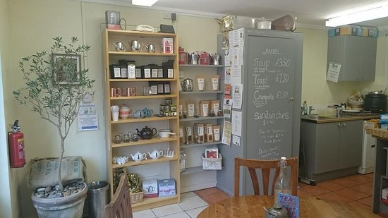 Axminster, UK: In the shop