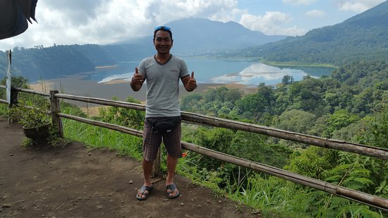 Lovina Beach, Indonesien: Onze chauffeur