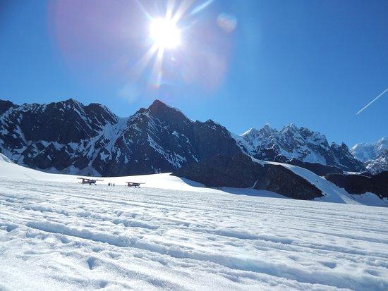 Talkeetna, AK: Fantastic Glacial Landing