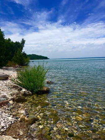 Petoskey, Мичиган: Scenic Views You Hike down to