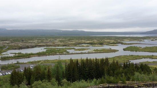 Thingvellir, ไอซ์แลนด์: Просторы