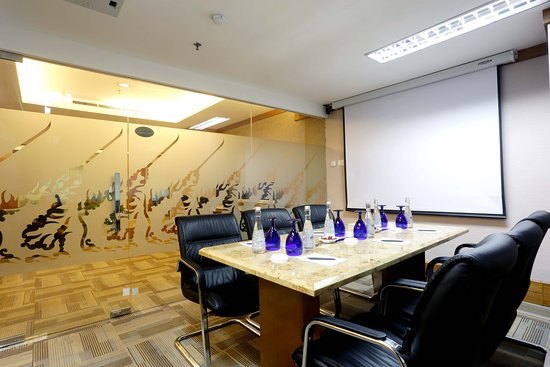 Business center private meeting room picture of grand for Design hotel jakarta