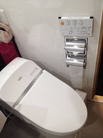Tokyo Garden Palace: wc giapponese compieterizzato