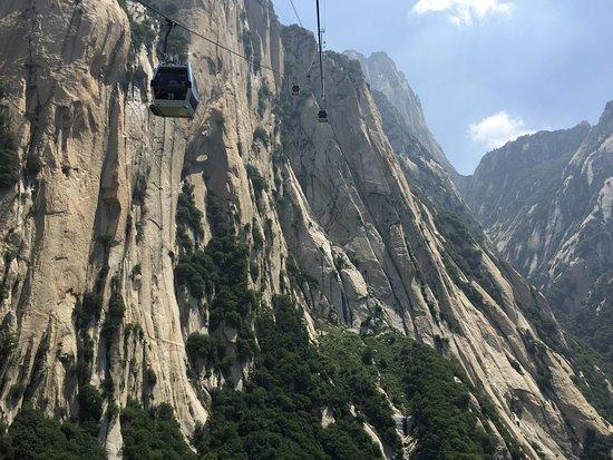 Mountain Huashan Plank Trail