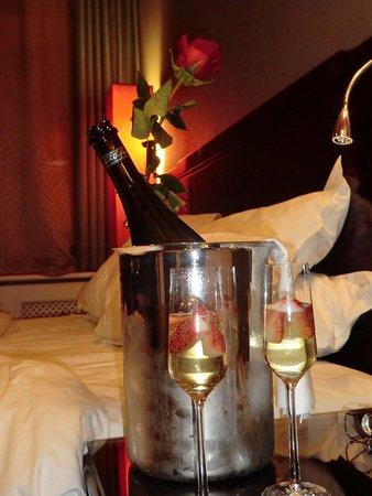 Sheraton Prague Charles Square Hotel: offert par l'hôtel pour la saint valentin