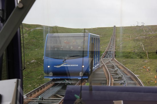 Эвимор, UK: The funicular