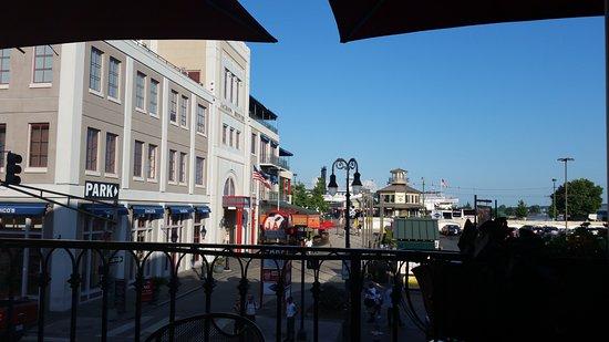 Harvey, LA: View from the balcony...