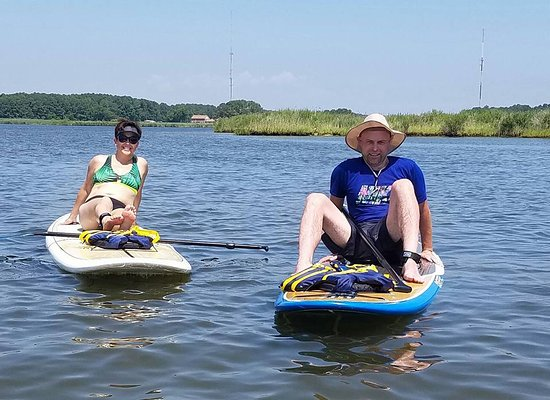 Chester, MD : Day on the water with Dragonfly Paddle Sports!