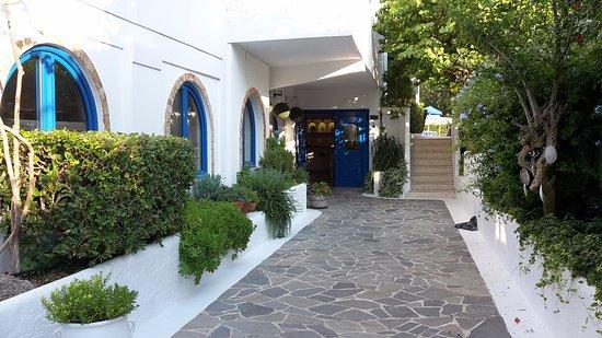 Nathalie Hotel: entrée