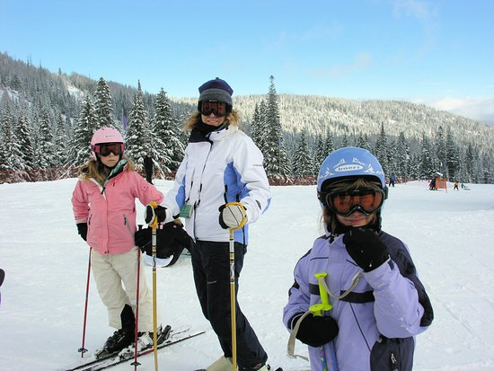 Sandpoint, Айдахо: Another awesome day on the slopes