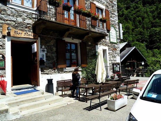 Rima San Giuseppe, Italien: Particolare esterno hotel