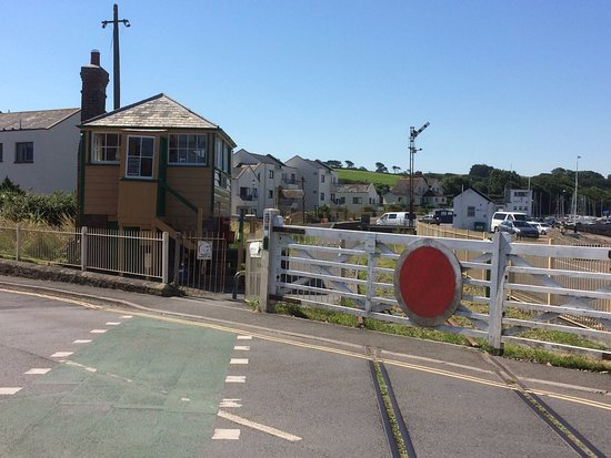 Devon, UK: The Signal box