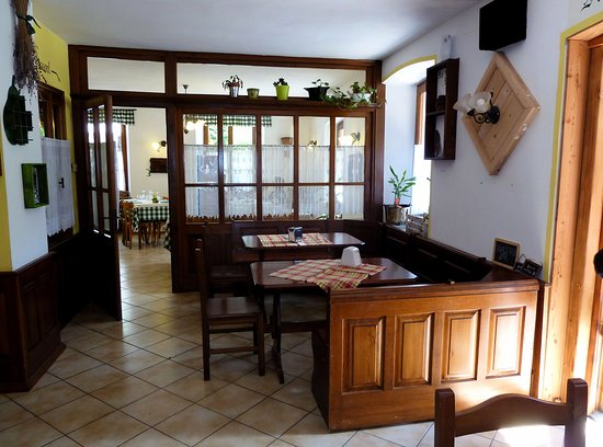 Rima San Giuseppe, Italien: Entrata al ristorante