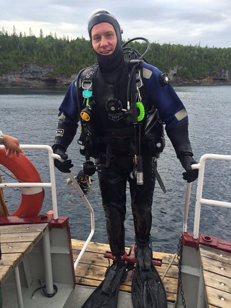 Divers Den : Finishing my dive on the Niagara II