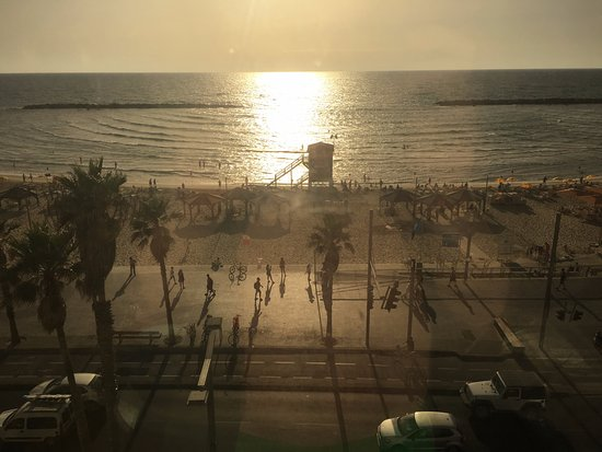 Dan Tel Aviv Hotel: View from room