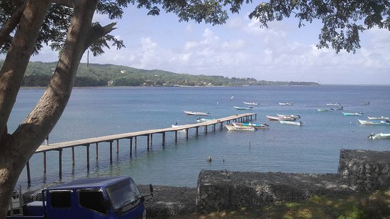 Cocrico Inn: 2 min away you can overlook the Bay and fishing jetty. Walk along the sand to Turtle Beach
