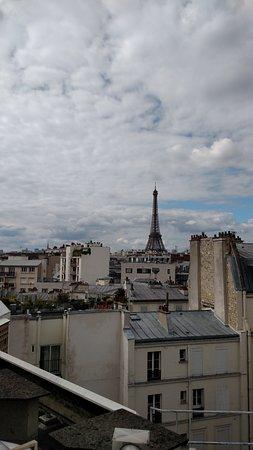 Ibis Tour Eiffel Cambronne: Vista do corredor