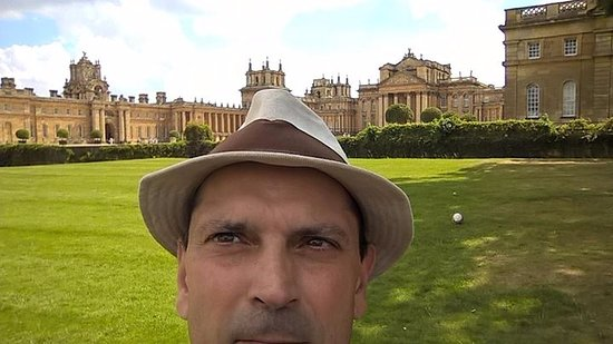 Blenheim Palace: Plenty of room for selfies!