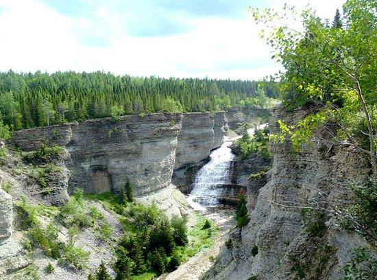 Port-Menier, Canada: Canyon Observation