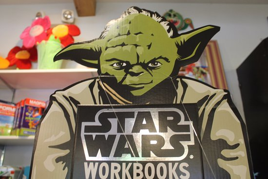 Williamstown, MA: Star Wars work books for kids