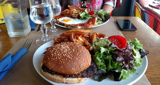 Le general Beuret: Cheesburger com Bacon